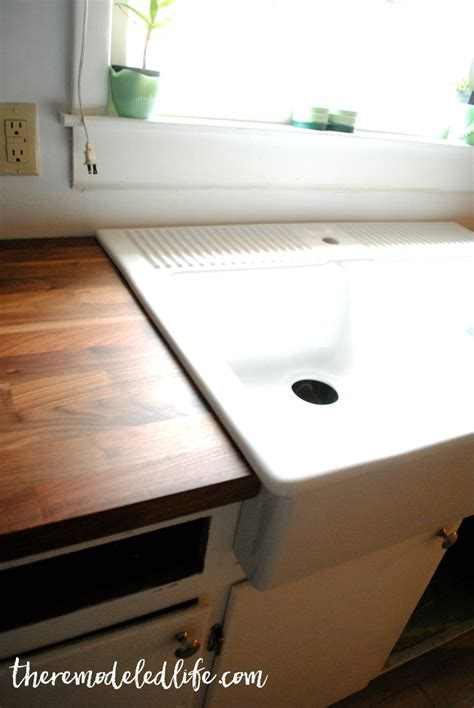 installing ikea wood countertops how to install butcher block countertops from ikea