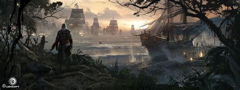 Assassins Creed Iv Black Flag Concept Art By Martin