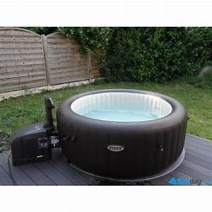 Spa Gonflable Intex Gifi : spa gonflable intex pure spa jets 4 places ~ Dailycaller-alerts.com Idées de Décoration