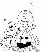 Coloring Halloween Charlie Brown Silhouettes Printable Drawing Paper Games sketch template