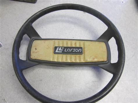 Boat Steering Wheel Shaft by Larson Boat Steering Wheel 13 5 Inch Vintage 3 4 Shaft