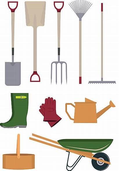 Vector Tools Gardening Garden Gloves Clip Illustrations