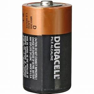 Batterie 1 5 Volt : duracell d 1 5v alkaline coppertop battery 4 pack kit b h ~ Jslefanu.com Haus und Dekorationen