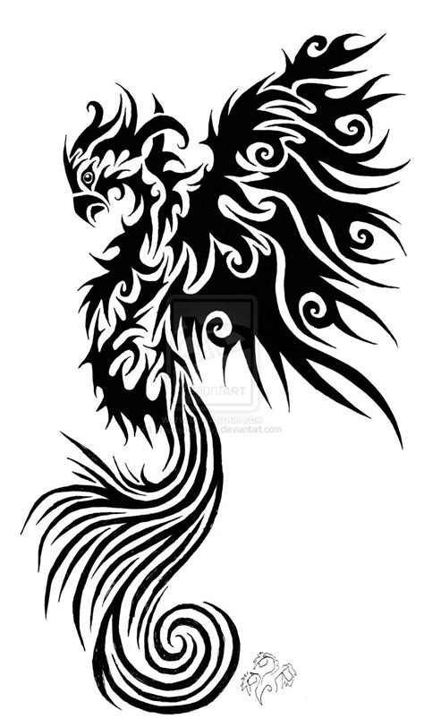 phoenix tribal tattoo - Google Search | Tattoos | Tatuaje de fénix, Tatuajes, Dibujos