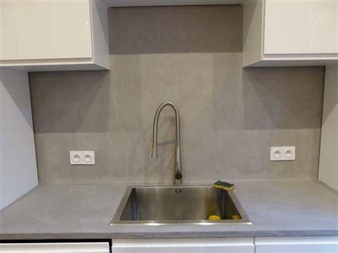 peinture sur stratifié cuisine peut on appliquer du béton ciré sur plan de travail