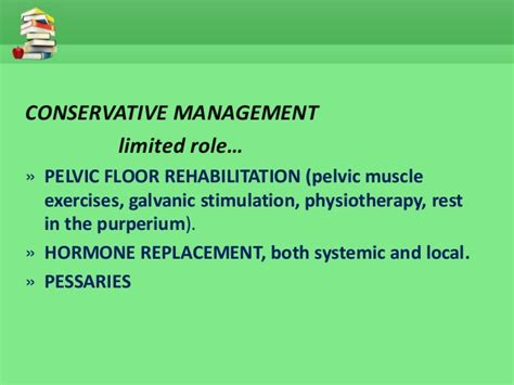 Pelvic Floor Constipation by Uterine Prolapse Management