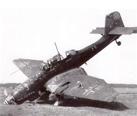 Asisbiz Junkers Ju 87D5 Stuka NSG4 WNr 141084 abandoned at ...