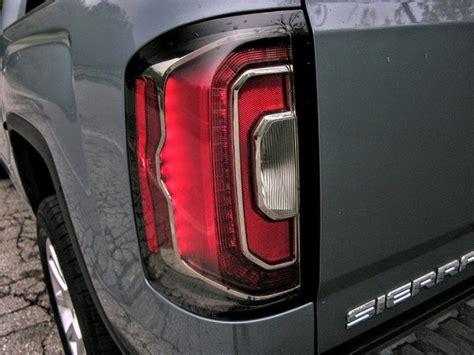 2016 gmc sierra tail lights 2016 gmc sierra denali review the cadillac of trucks part 2