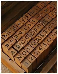 antique alphabet stamp set wooden rubber stamp set With letter rubber stamp set