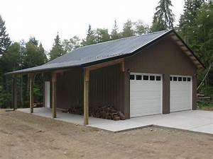 garages pole barn builder specializing in post frame With 4 bay pole barn