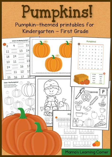 pumpkin math worksheet autumn worksheetsprintable happy