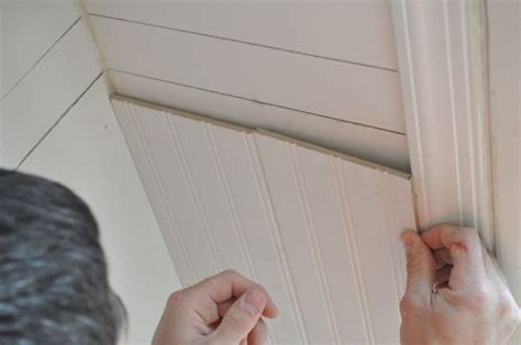 Thin Beadboard Paneling : How To Install Beadboard Wainscoting