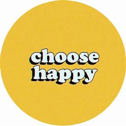 Aesthetic Yellow Positive Happy Dark Behappy Choosehappy