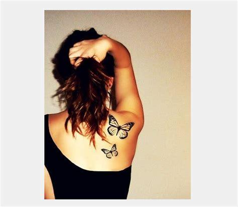 tattoo design  butterfly shoulder tattoos  girls