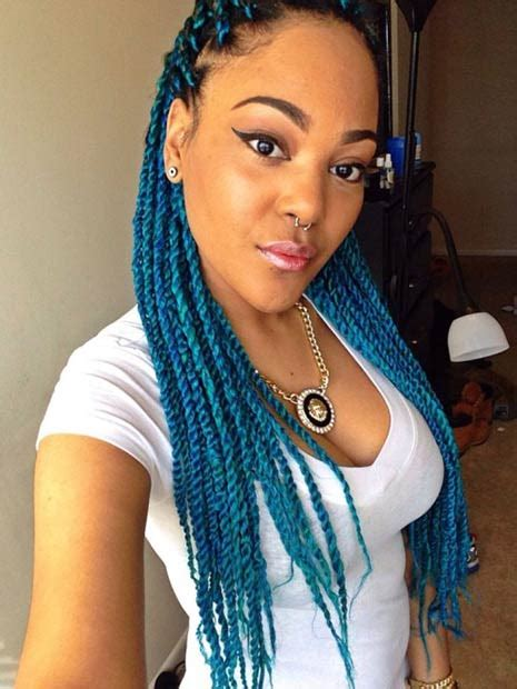 Different Hairstyles For Twists by 49 Senegalese Twist Hairstyles For Black Stayglam