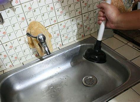 clear  clogged drain  vinegar sink drain sink