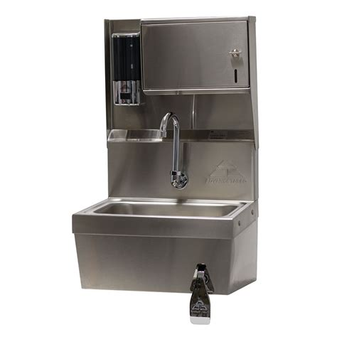 advance tabco wall mounted sink advance tabco 7 ps 82 wall mount commercial sink w
