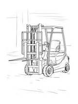 Forklift Camion Coloring Truck Colorare Disegni Ausmalbilder Scania Coloriage Gabelstapler Lastwagen Kleurplaat Zum Gratis Kostenlos Lkw Drawing V8 Chariot Printable sketch template