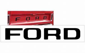 graphic express 1961 66 ford f100 and f150 tailgate With ford f150 tailgate letters