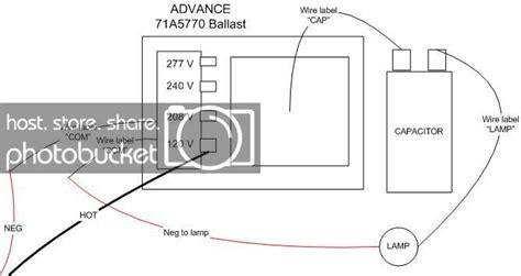 Metal Halide Wiring Diagram 240 Volt by Diy Metal Halide 71a5770 Ballast The Reef Tank