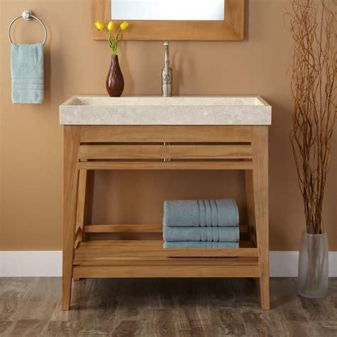 vanity with shelves open shelf bathroom vanity ideas bathroom open bathroom