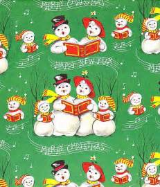 Retro Vintage Caroling Snowman Christmas 8x8 Handmade Craft Fabric Block - Great for Quilting, Pillows & Wall Art - Buy 2, get 1 FREE