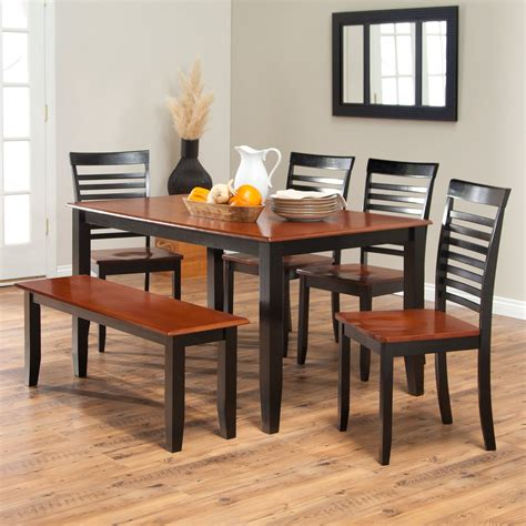 kitchen table and chairs set dining room appealing black kitchen table set black