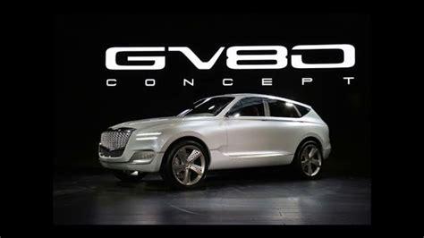 2020 Genesis Gv80 by 2020 Genesis Gv80 New Design And Power