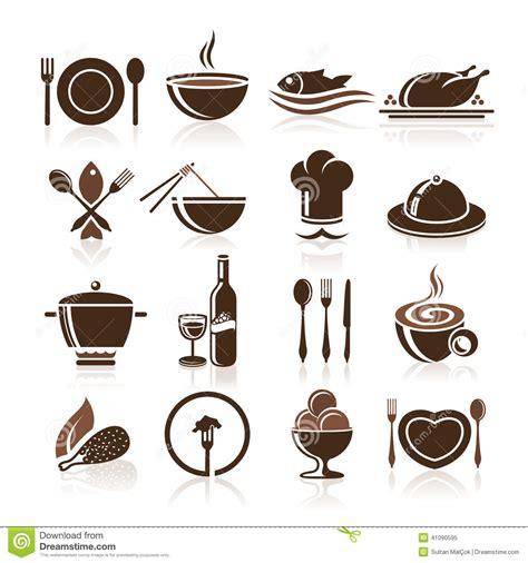 icone cuisine cuisson et ensemble d 39 icône de cuisine illustration de vecteur image 41090595