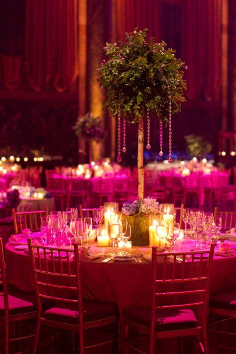 green purple indian wedding reception maharani weddings