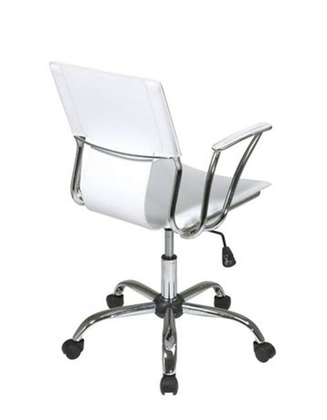 white desk chair walmart office star products dorado white office chair walmart ca