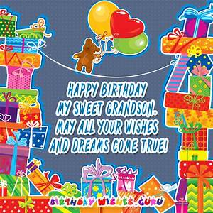 Happy Birthday Wishes for Grandson