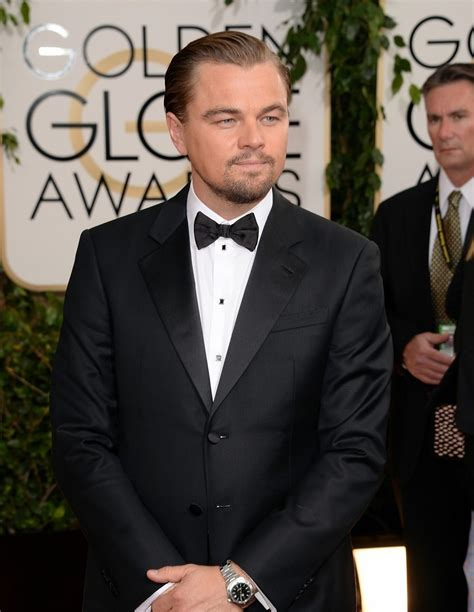 Golden Globes 2014 Leonardo Dicaprio On The Red Carpet
