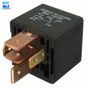 12v 5 Pin Automotive Relay 80a Amp Waterproof Van Boat