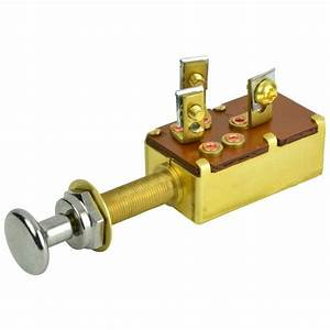 Bep Marine Push  Pull Switch Off  On1  On2 3 Position  Spst