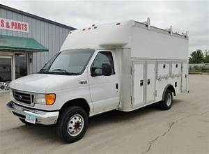 Buy used 2004 Ford E450 Cube Van Utility Truck 52,540 miles in Des Moines, Iowa, United States