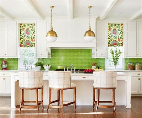 apple green kitchen tiles 30 green kitchen decor ideas that inspire digsdigs 4162