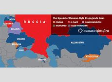 Spread of RussianStyle Propaganda Laws Human Rights First