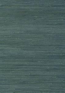 Teal Grasscloth wallpaper