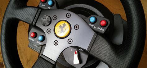 test thrustmaster  ferrari gte wheel volant ps
