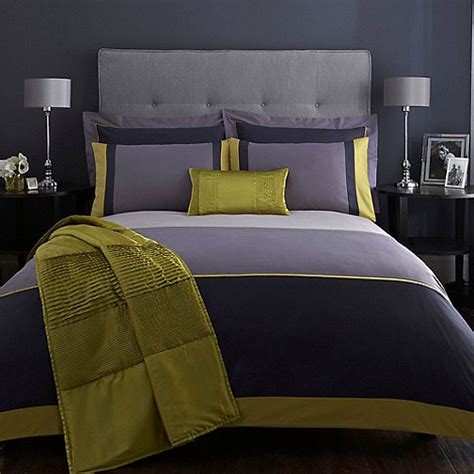 J By Jasper Conran Blue 'maddox' Duvet Cover Debenhams