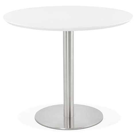 bureau 90 cm de large table de bureau ronde indiana blanche 90 cm table à diner