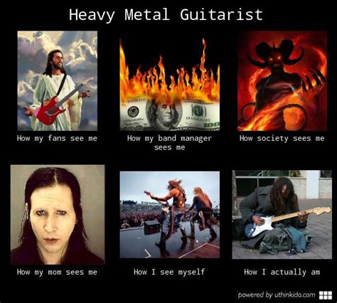 Memes Heavy Metal - heavy metal memes heavy metal guitarist what people think i do what i really do music