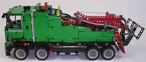 Lego Technic Camion : review lego technic 42008 camion remorqueur ~ Nature-et-papiers.com Idées de Décoration