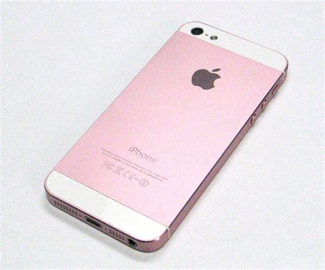 iphone 5 pink color conversion ifixsmartphone