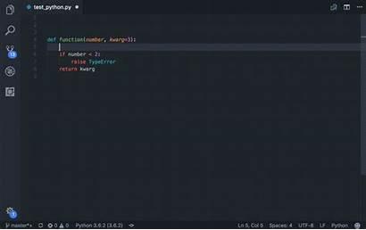 Python Extensions Vscode Visual Docstring Studio Code