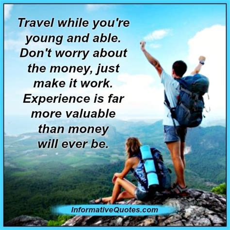 travel    young  informative quotes
