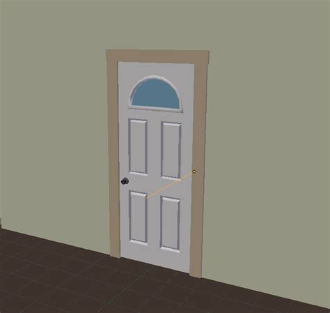 how do you make a door into a swinging bookcase modeling how do i create a hinged door blender stack