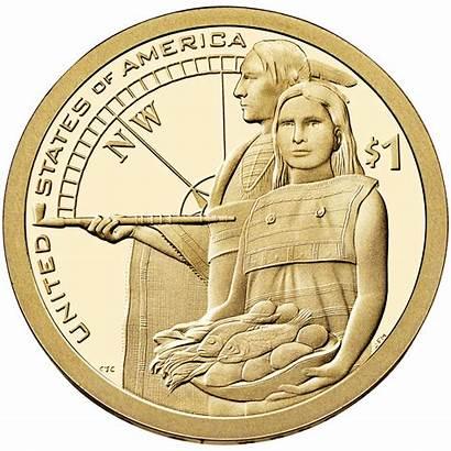 Dollar Native American Sacagawea Coin Coins Proof