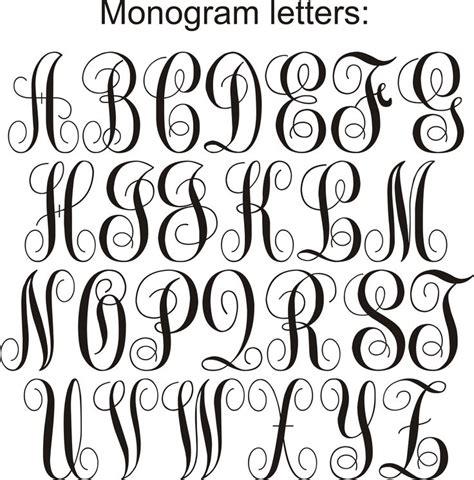 monogram lettersjpg artsy fartsy pinterest monogram